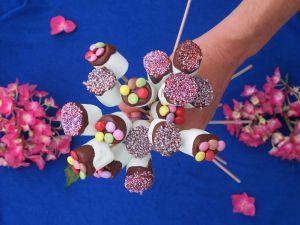 Recette Bouquet de chamallow pour anniversaire