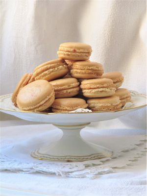 Recette Macarons au banoffee