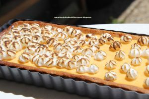 Recette Tarte aux abricots meringuée