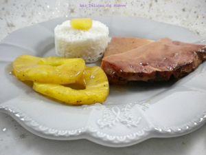 Recette Jambon à l'ananas, façon jambon de Noël