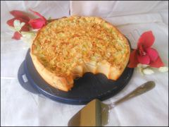 Recette Cuajada au mascarpone et rhubarbe