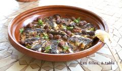 Recette Tajine de sardines