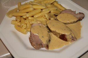Recette Filets mignons de porc a la moutarde