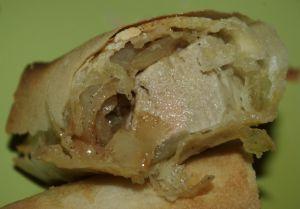 Recette Croustillant foie gras-oignons