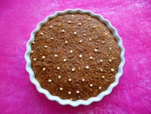 Recette Bowl cake cru vegan hyperprotéiné chocolat-maca-quinoa soufflé (diététique, sans gluten-sucre-oeuf-beurre-lait, riche en fibres)
