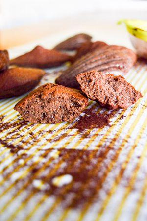 Recette Madeleines vanille & cacao légères