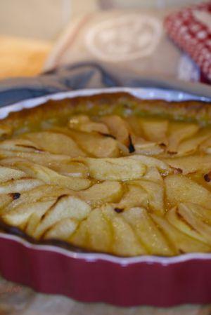 Recette Tarte aux poires au gingembre