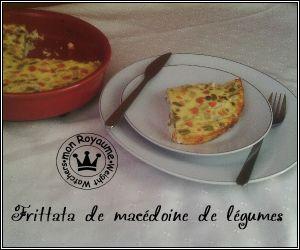 Recette Frittata de macédoine de légumes