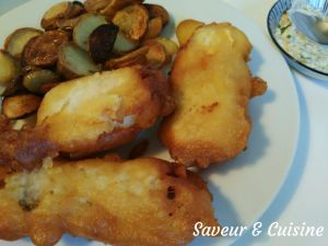Recette Fish and chips maison