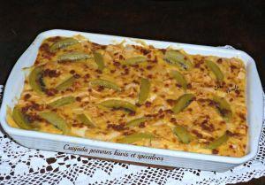 Recette Cuajada pommes kiwis et spéculoos