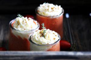 Recette Liégeois de tomates et Reblochon