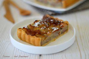 Recette Tarte Poire - Crème de Marrons