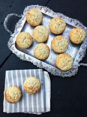 Recette Muffins aux bananes et noix de coco