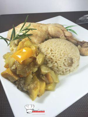 Recette Tiebou poulet Recette Cookeo