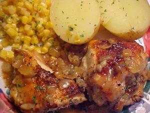 Recette Poulet Yassa (poulet à la lime et aux oignons)