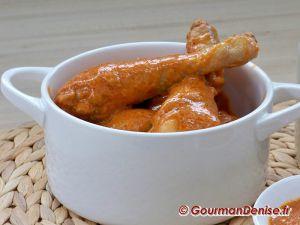 Recette Poulet au vinaigre ou fricassée de poulet à la Lyonnaise