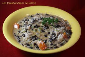 Recette Soupe de haricots noirs et coco (Tanzanie)