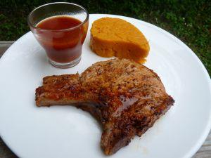 Recette Côtes de porc marinées