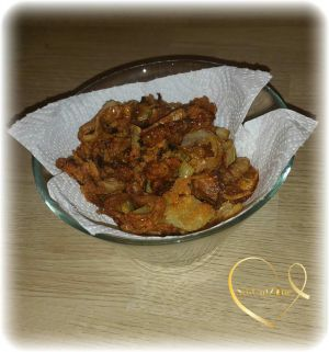 Recette Oignons frits