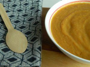 Recette {Soupe} Soupe entre été et automne