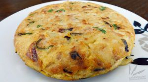 Recette Frittata di pasta (omelette au pâtes)
