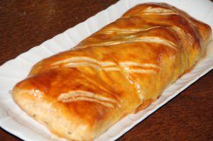 Recette Filet mignon de porc en croute au munster