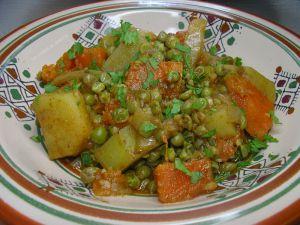 Recette Tajine de patates