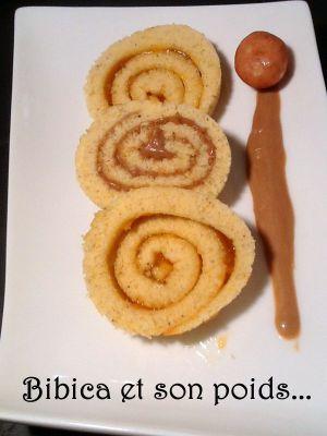 Recette Roulé à la pâte à tartiner spéculoos maison