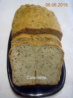 Recette Pain aux céréales en machine à pain