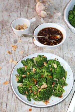 Recette Brocolis sauce aigre-douce