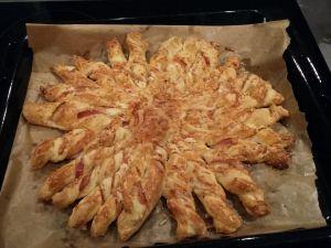 Recette Soleil jambon fromage