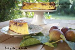 Recette Gâteau aux figues et fève tonka