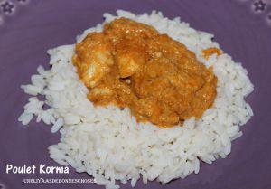 Recette Poulet Korma...Escapade en cuisine