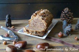 Recette Cake noisettes et farine de châtaigne (sans gluten et sans lactose)