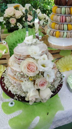 Recette Gâteau de mariage... sans lactose !