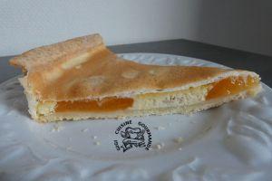 Recette Tarte crémée aux abricots meringués