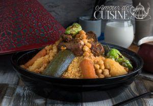 Recette Du couscous tunisien à l'agneau