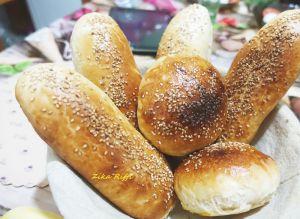 Recette Pain pour pan bagnat maison a la crème sure/ recette personnelle