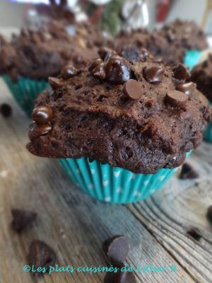 Recette Muffins au chocolat et yogourt
