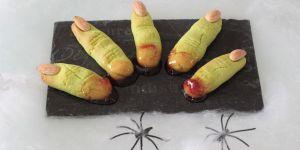 Recette Doigts de sorcières d'Halloween (au Thermomix)