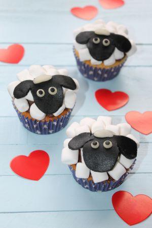 Recette Cupcakes Shaun le Mouton (Spécial Enfants)