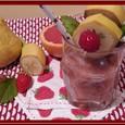 Recette Smoothie fraises, pamplemousse, poire, basilic par delphine