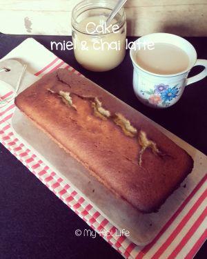 Recette Cake miel & chai latte