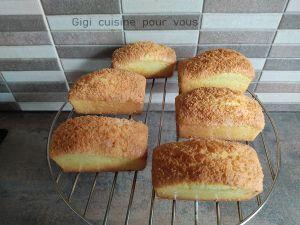 Recette Cakes à la noix de coco avec le cake factory