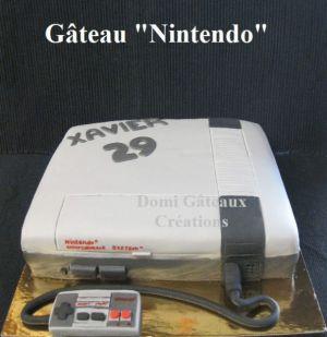 """Recette Gâteaux """"Nintendo"""" et Playstation"""" en Pâte à Sucre"""