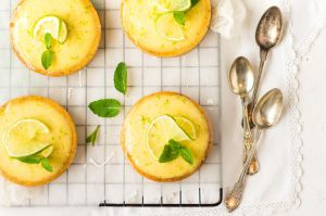 Recette Tartelettes mojito {citron vert & menthe}