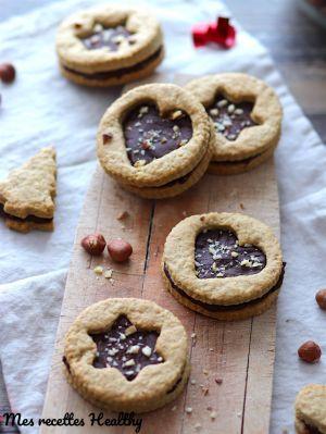 Recette Biscuit sablé à la banane et son coeur de chocolat