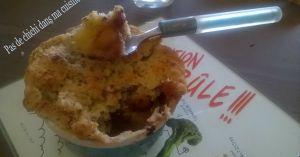 Recette Crumble poire pomme chocolat (tour en cuisine #394)