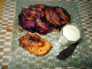 Recette Assiette desserts ( millassou et tarte pomme  sureau
