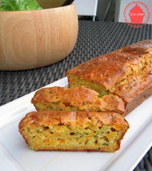 Recette Cake courgette et carottes